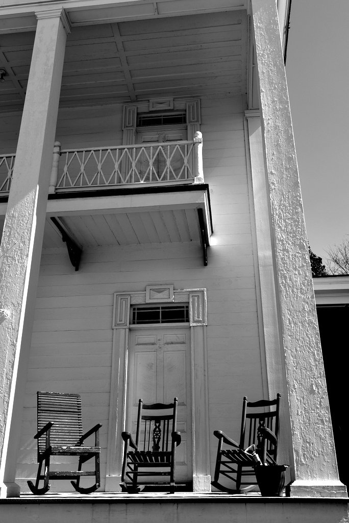 Monticello Porch