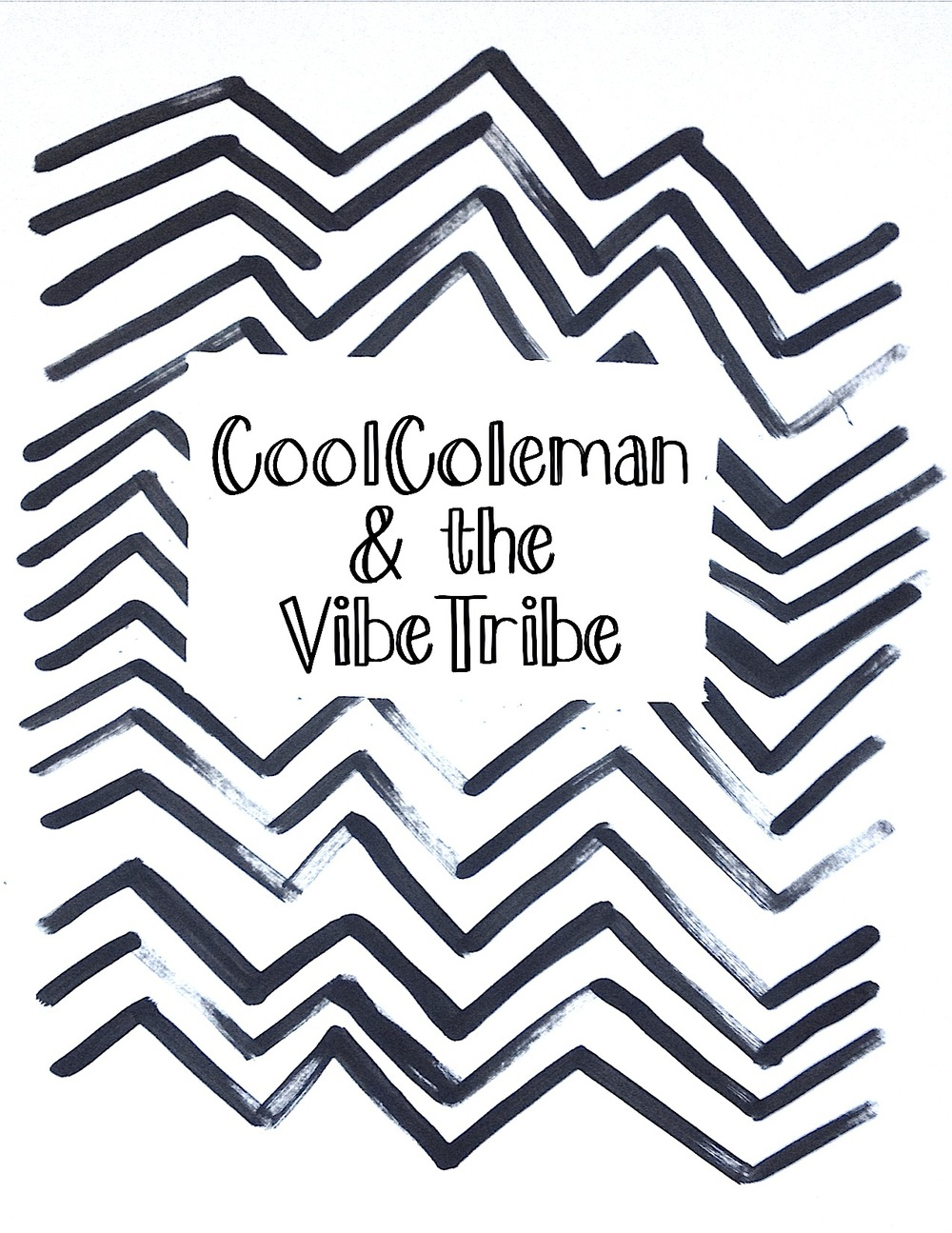 Cool Coleman and the Vibe Tribe Logo