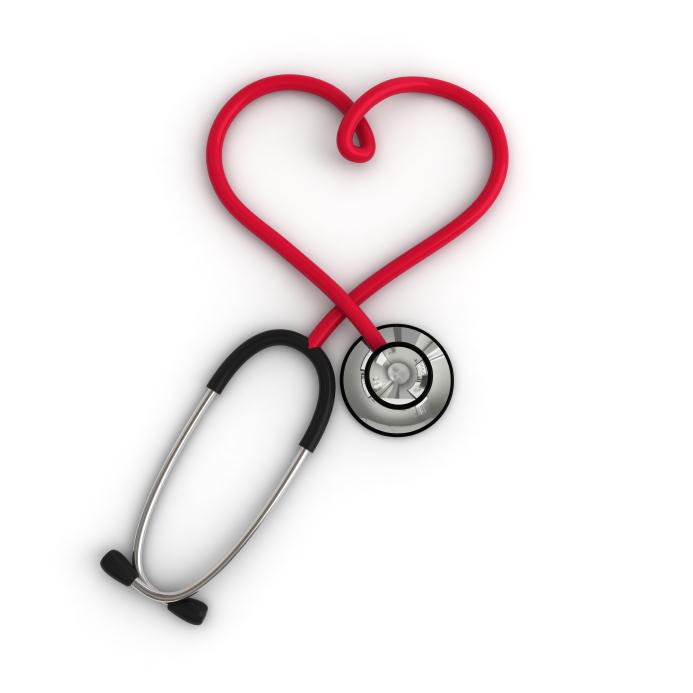 Stethascope Heart Shaped