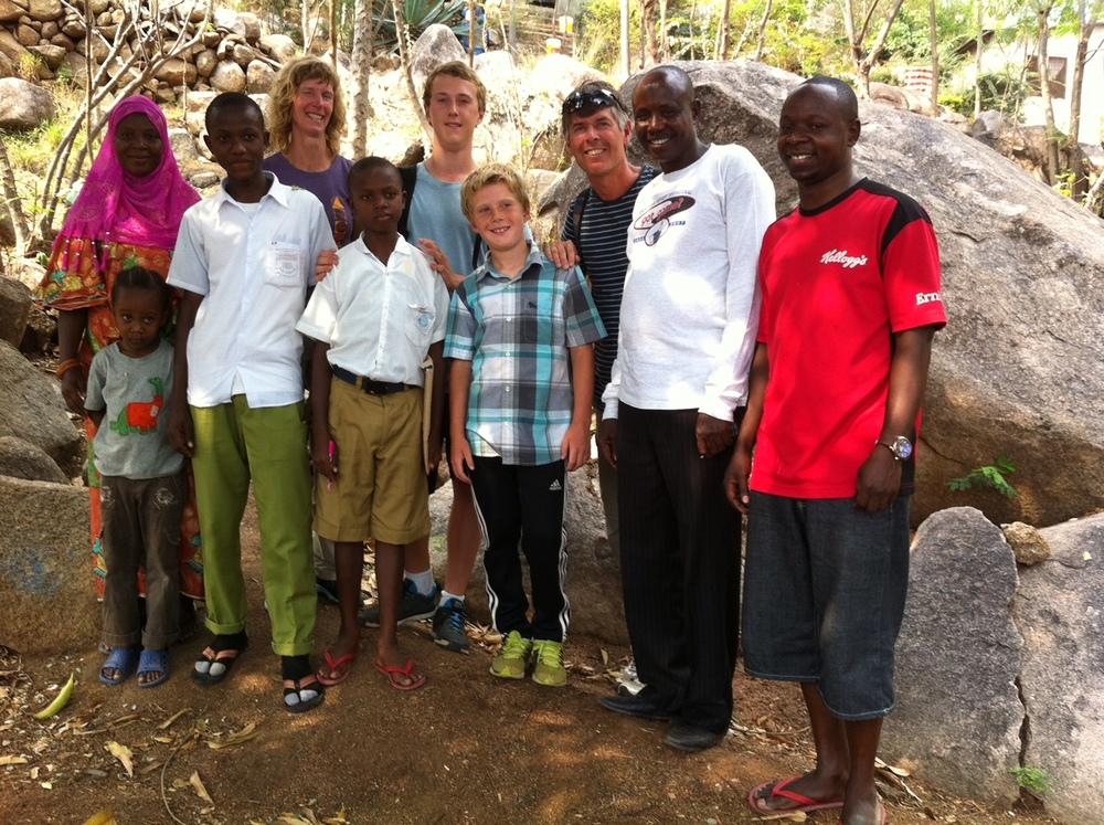 Holden Family In Africa