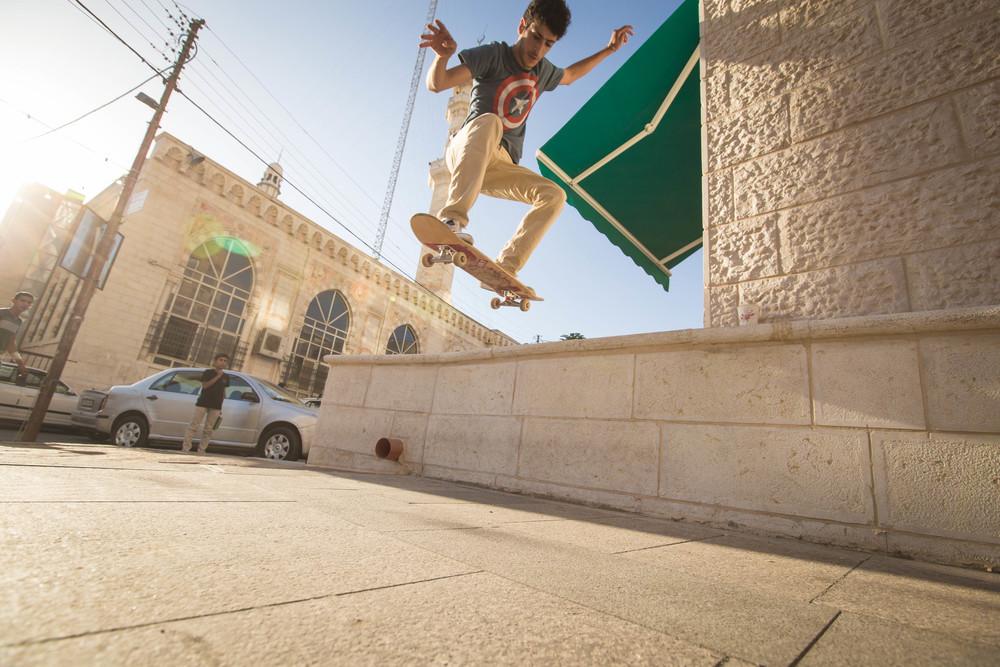 Aram Sabbah. Ollie in Ramallah,2015.