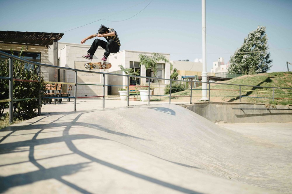 Tom Knox, Heelflip. Photo: Sam Ashley