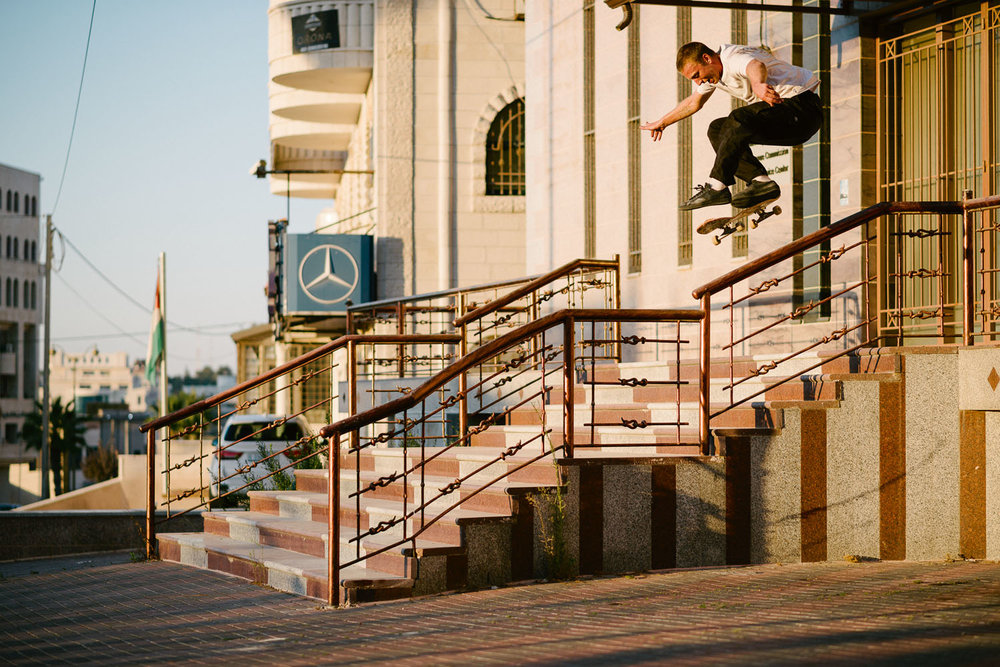 Casper Brooker, Kickflip. Photo: Sam Ashley