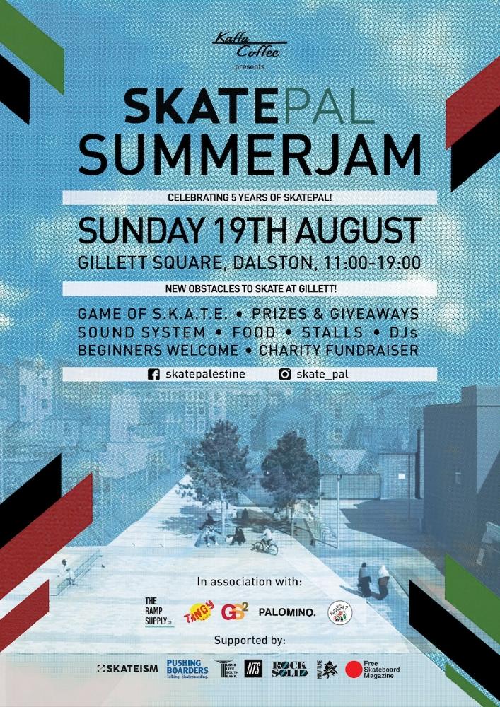 SkatePal Summer Jam 2018 — SkatePal
