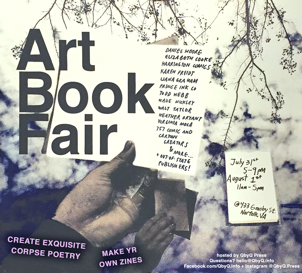 2015 Art Book Fair poster