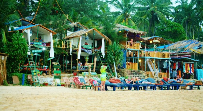 Image result for goa beach shacks