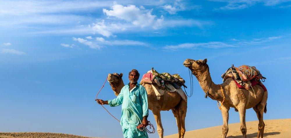 Daytime in Jaisalmer