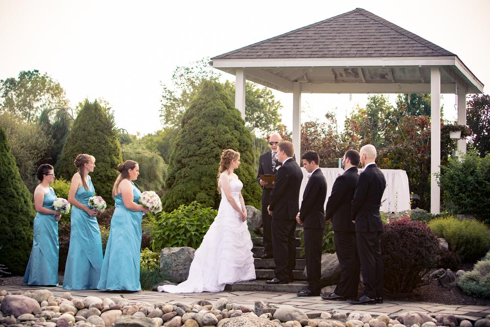 Wedding Ceremony - Celebrations Banquet Facility - Ithaca NY