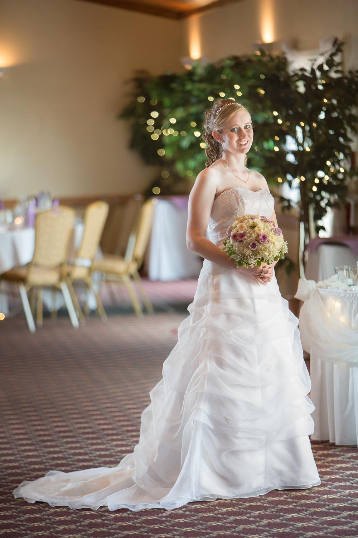 Bride at Celebrations Banquet Facility