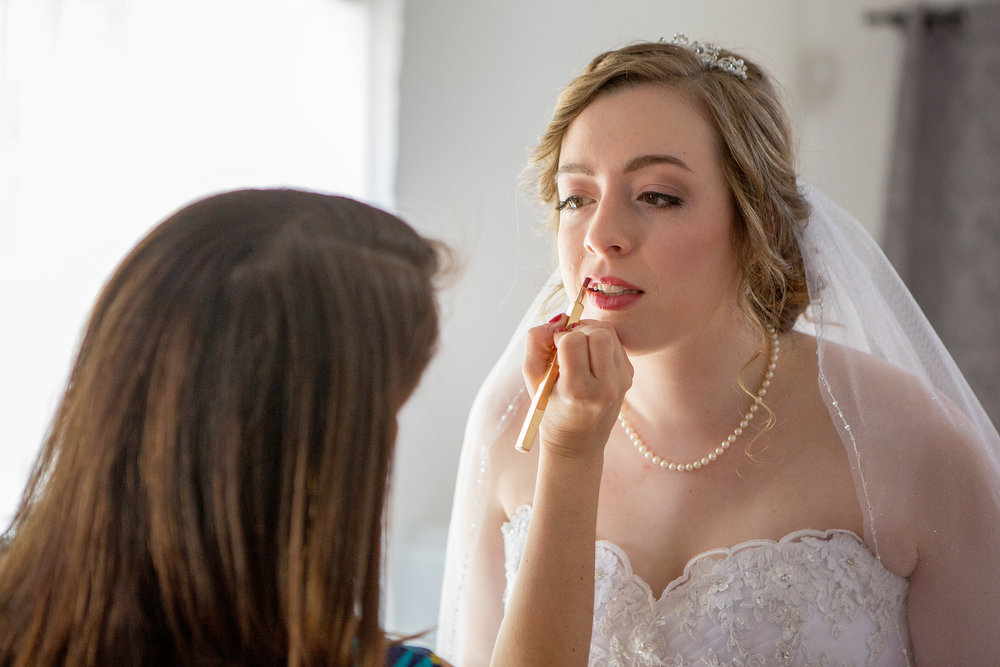 Rochester Wedding Photography - At Bridal Salon