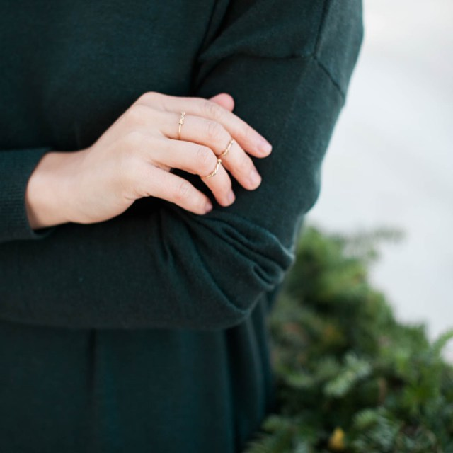 Loving this holiday ring story  from @juliengarman.