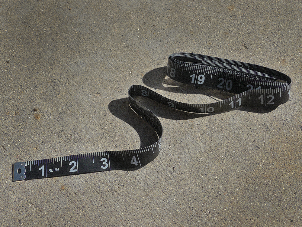 "Black Measuring Tape Girth of the fish is just as important as the length and this black vinyl coated non-stretch measuring tape is the perfect match for any of our Big Bass measuring board. Length: 60""  Width: 5/8"" Click here to purchase"