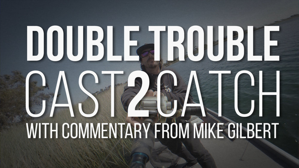 Double Trouble: 11lb 9oz Largemouth Bass Cast2Catch Watch as Mike Gilbert provides commentary to his Cast2Catch video of a Trophy Largemouth Bass on a double Hudd rig. Click image to watch