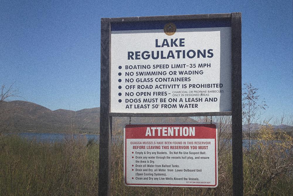 Check those lake rules...