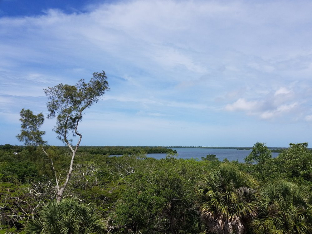 Water Tower view at Cabbage Key