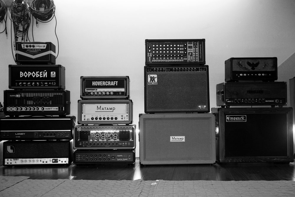 amplifier wall