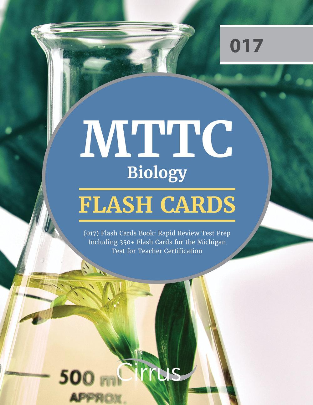 Mttc Biology 017 Flash Cards Book Cirrus Test Prep