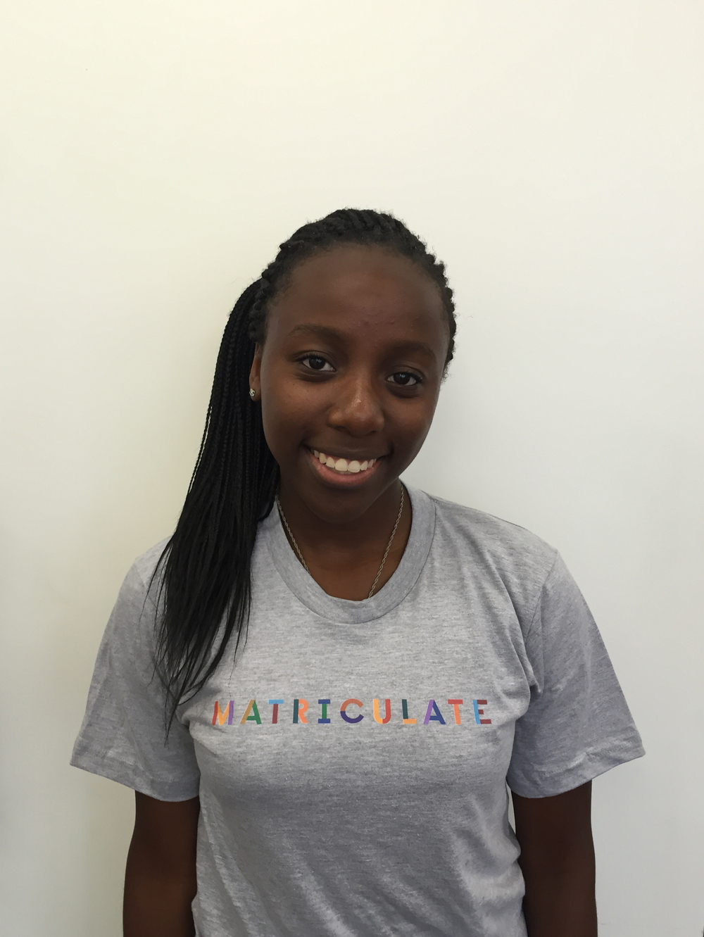 University of Notre Dame 2015–2017 Fellowship  Ashley Kyalwazi '18 Head Advising Fellow