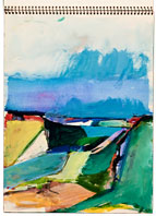 Richard Diebenkorn Sketchbook