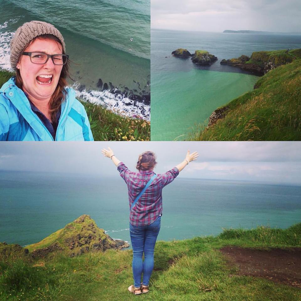 Carrick-a-Rede rope bridge Ireland 2016