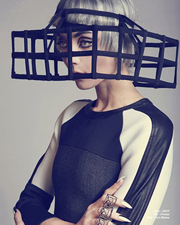 AK x CHROMAT FEATURED IN SCHÖN! MAGAZINE, FEBRUARY 2014
