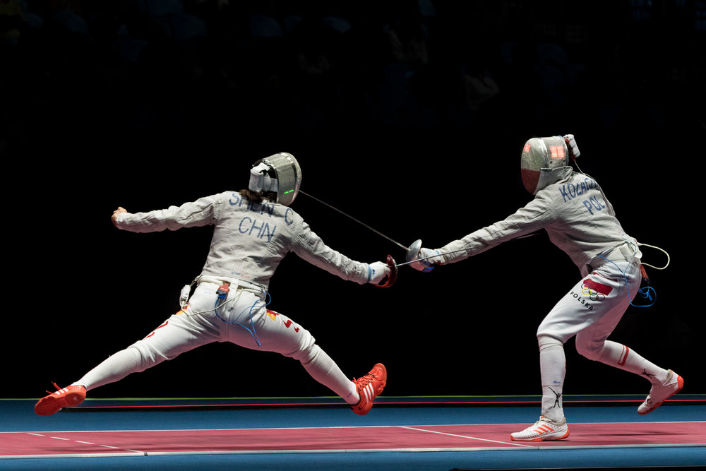China vs Poland Women's Fencing Sabre