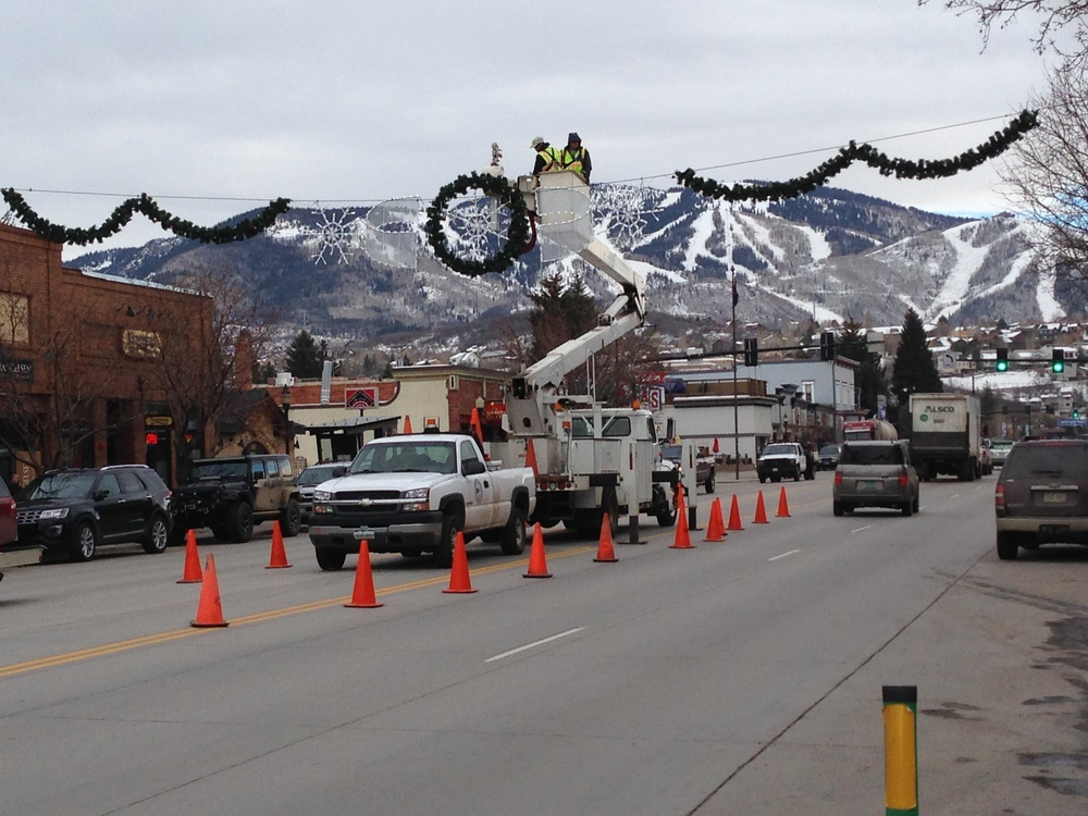 Steamboat's Holiday Lights Go Up