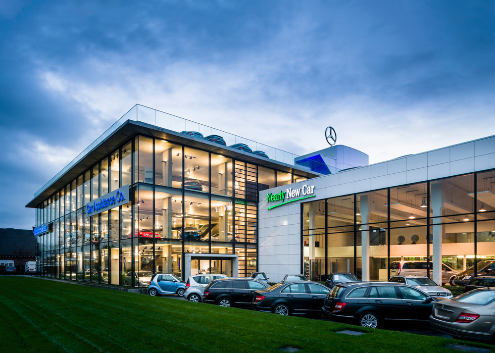 Showroom CAC Mercedes