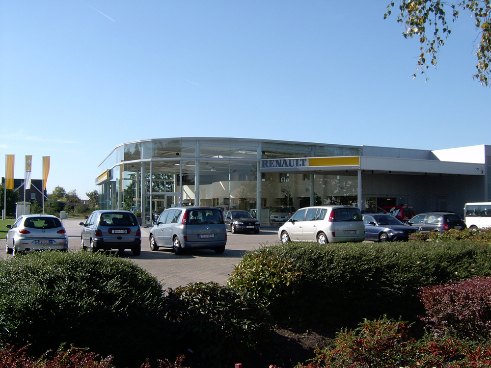 Showroom Renault Geel