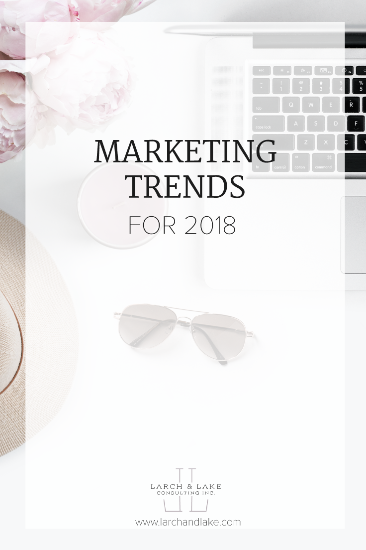 The research is in, I read dozens of articles on 2018 Marketing Trends and picked out the best ones for you to implement this year!