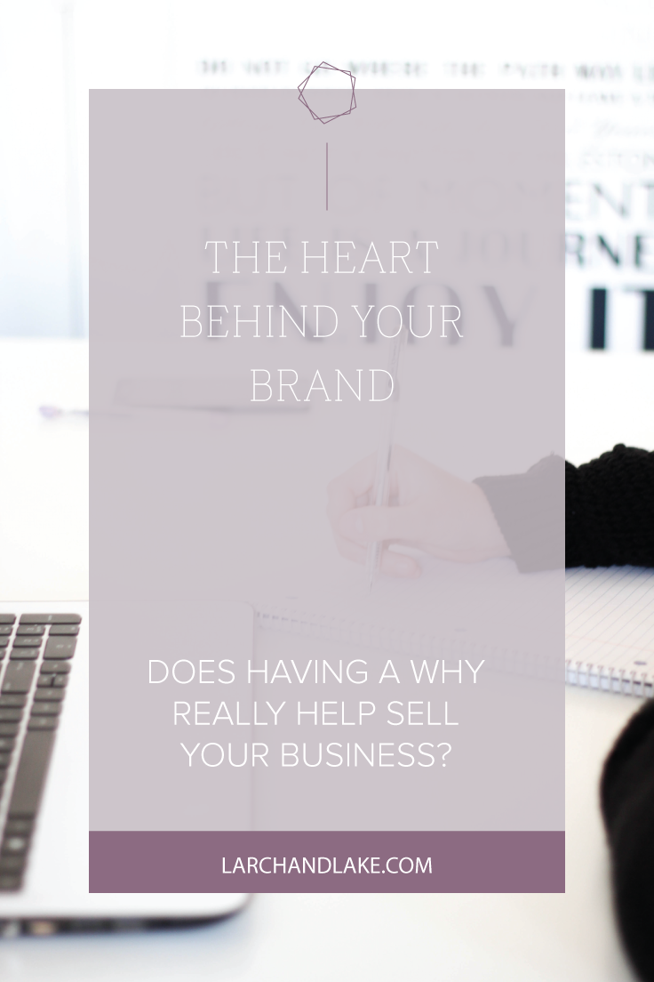 When people believe in the why behind your brand, they identify with your purpose and they desire to be apart of it.