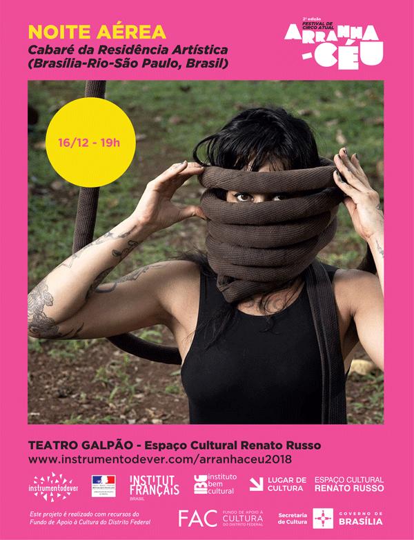 Dia 16 de dezembro às 19h, no Teatro GalpãoEspaço Cultural Renato Russo -