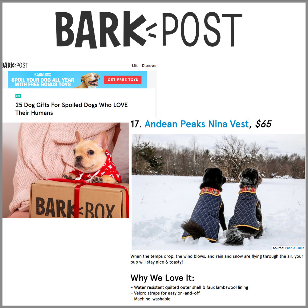 Press Bark Post