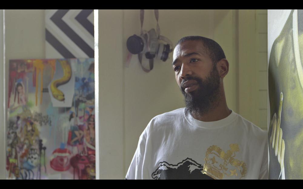 Andre Trenier - Painter/Wu-Tang artist