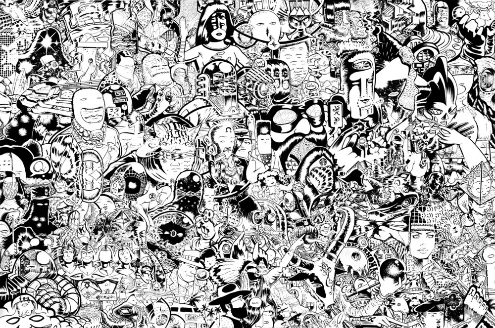 "Infinite Anarchy     Digital Print    20""x 30""    2015"