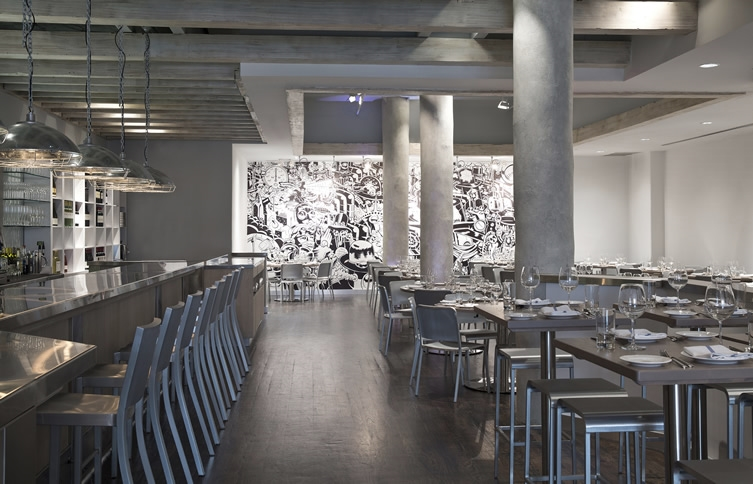 Concept:     Two Blocks East Design Firm    Trattoria Il Mulino    New York, NY