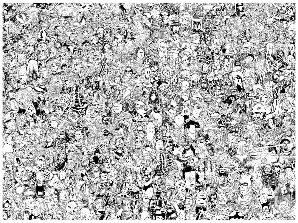 "The Force     silkscreen print    (coming soon)    26 x 40 ""    2017"