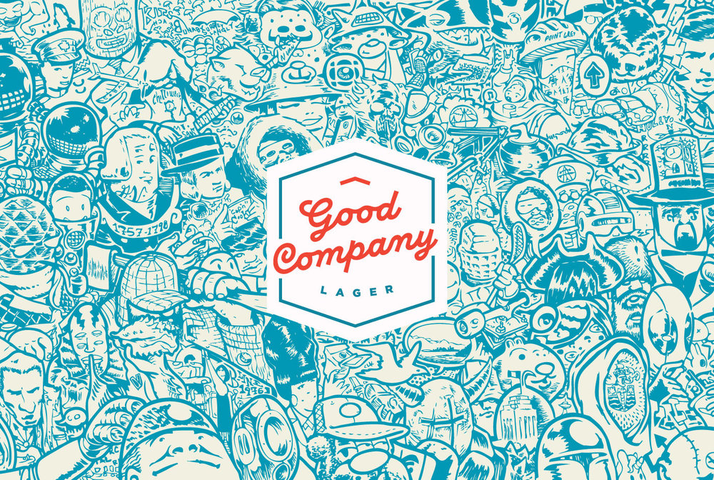 Concept:    Good Company Lager     Logo:    Caitlin Das    Vancouver, BC