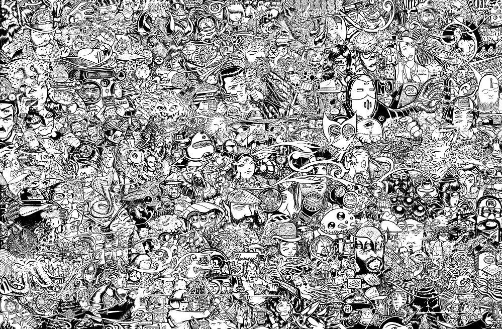 """Lighten Up     Digital Print    20""""x 30""""    2009"""