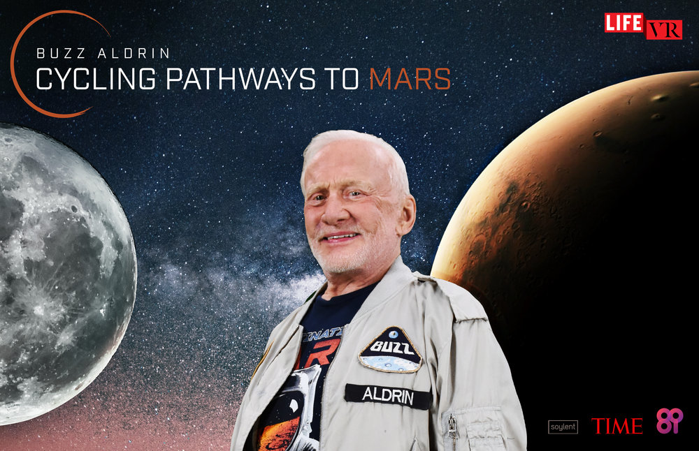 In Buzz Aldrin: Cycling Pathways to Mars, journey with Dr. Aldrin from his landing site on the moon to Mars as shows you first hand his plan for inhabiting the Red Planet.