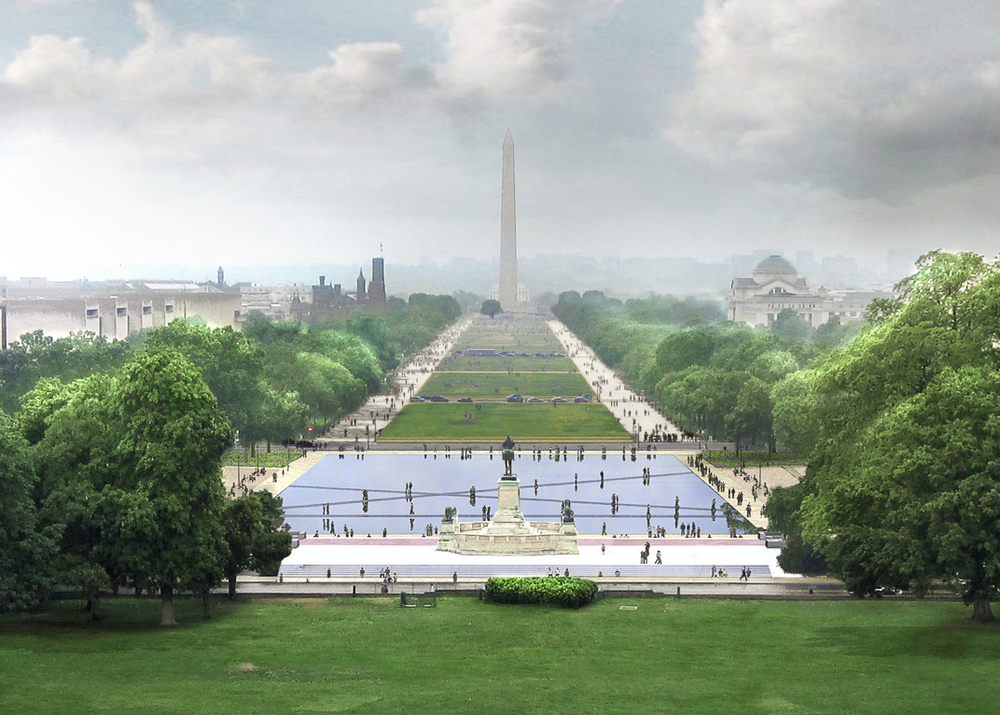 Unified Ground: Union Square - National Mall Competition
