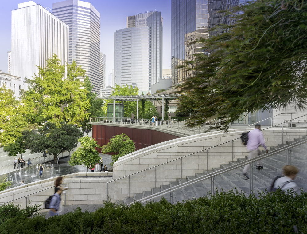 Seattle City Hall Plaza and Civic Center Campus