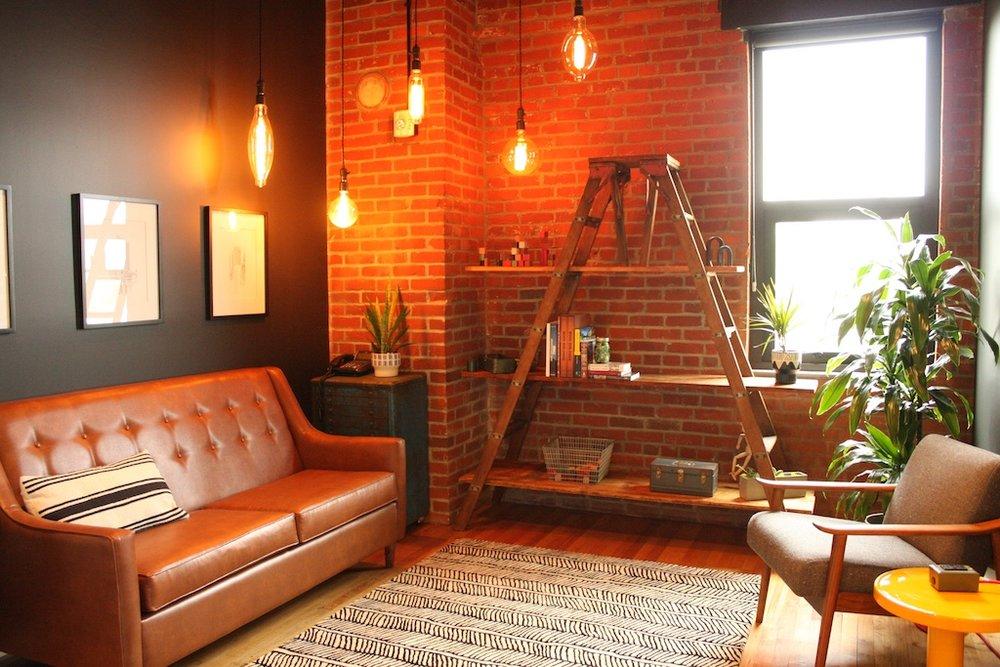 Client waiting area, Urban Development + Partners, Portland, OR