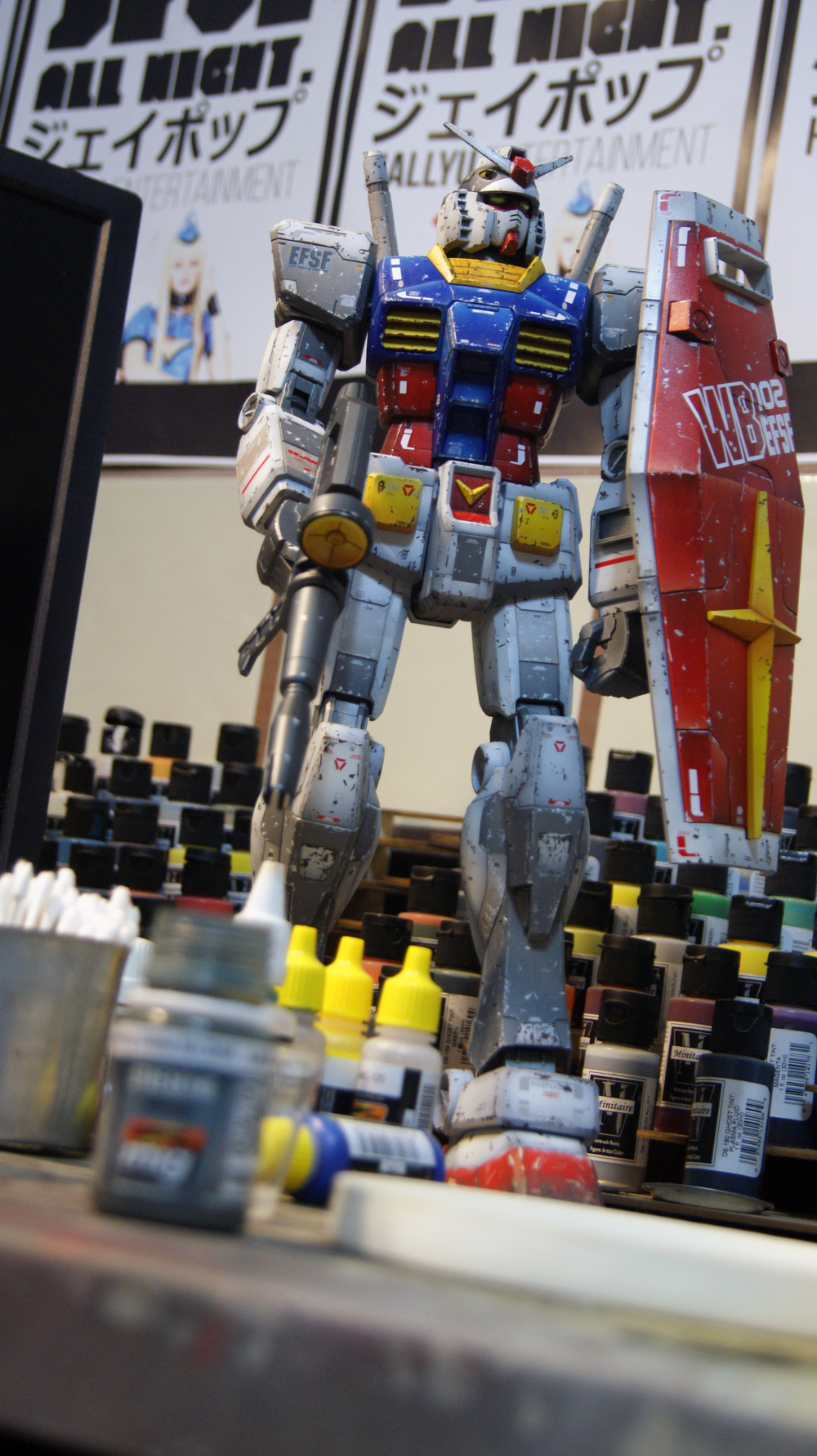 Gundam Color Modulation RX-78-2 Weathering Sensei Swag