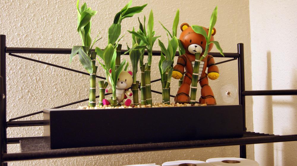 Gundam Gunpla Beargguy Bamboo Rilakkuma