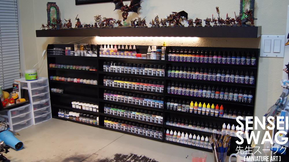 Man Cave Shelves : Wip: the swag shop part 4 u2014 sensei