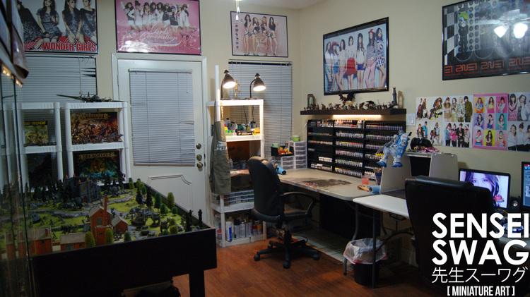 My Hobby Room Workshop Transformation