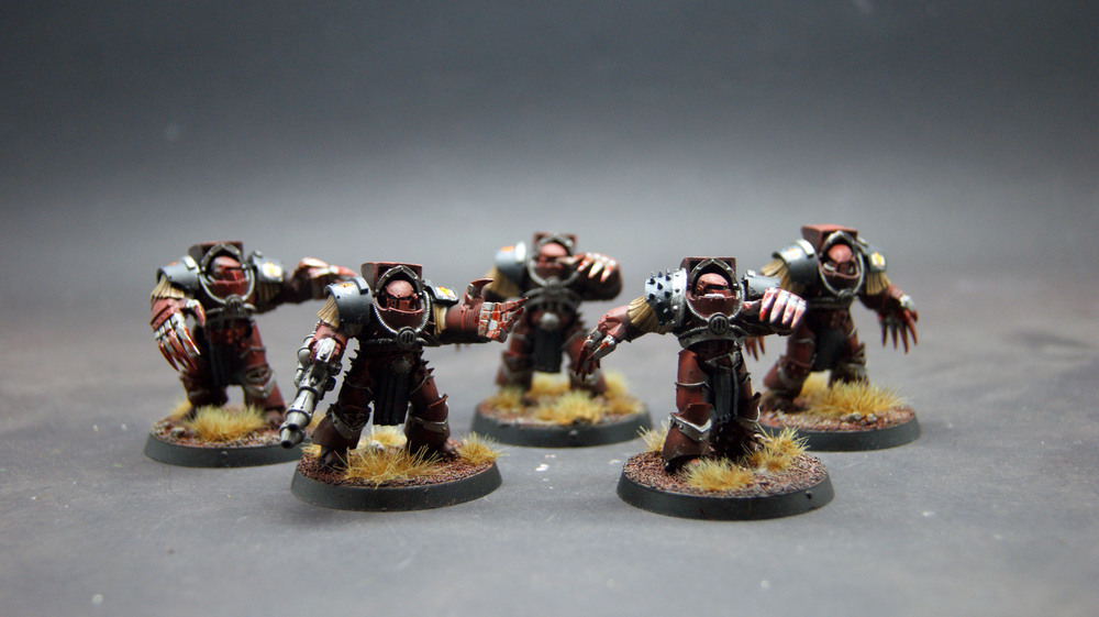 Horus Heresy Betrayal at Calth: Word Bearers Terminators