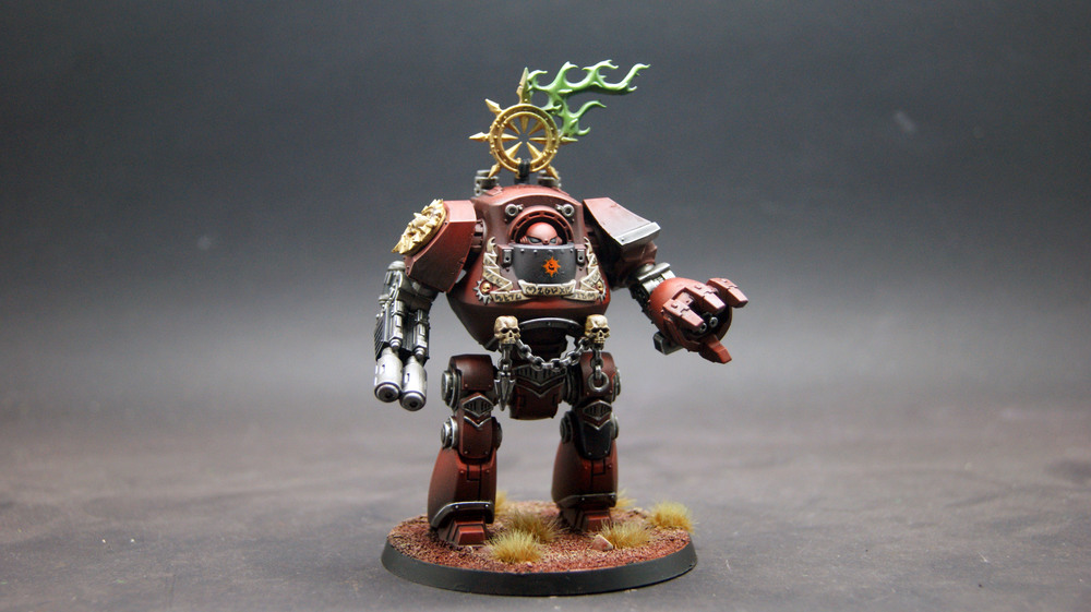 Horus Heresy Betrayal at Calth: Word Bearers Contemptor Dreadnought