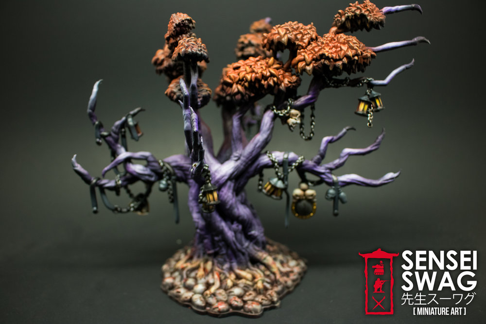 Kingdom Death Monster Lonely Tree Painted Painting Lonely Muse Kickstarter Pinup-3.jpg